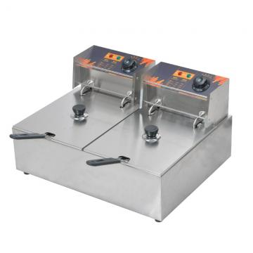 13L Double Tank Commercial Electric Deep Fryer with Ce
