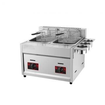 Deep Frying Machine Double Tank Gas Fryer