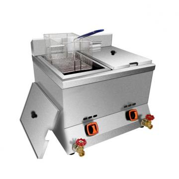 Double Commercial Electric Deep Potato Chips Fryer