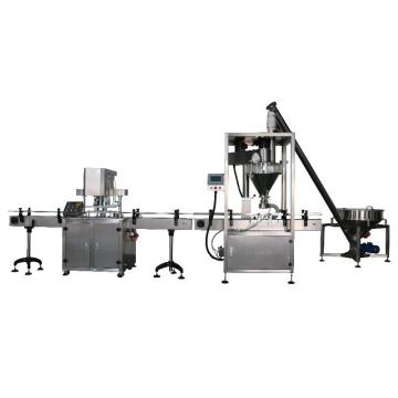 Double Head Automatic Auger Bottle/Can Filling Machine/Machinery for Curry/Fine/Food Powder/Pepper/Spices Packing/Packaging with Date Coding and Labelling